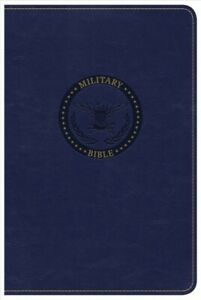 Holy Bible : Christian Standard Bible Military Royal Blue LeatherTouch Pap...