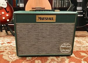 Marshall Class 5 Guitar Amp Green Limited Edition Signed By Jim Marshall