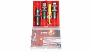 Lee Reloading 3 Die Set 45 ACP Carbide Red Box wShell Holder 90513