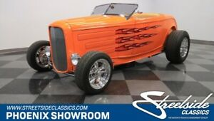 1932 Ford Other Roadster BBC Deuce Hot Rod Classic Vintage Collector V8 Auto Downs Receipts Orange Tan TH