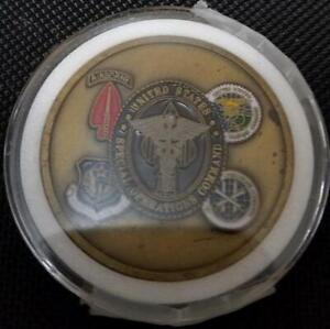 Rare Authentic US Special Operations Command USSOCOM Command Surgeon challenge c