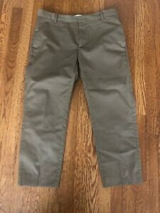 Men's Designer Pants By Wood Wood. Color Is Dark Khaki And Size Large.