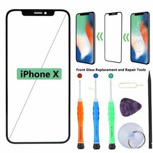 Front Screen Glass Lens Replacement For iPhone X Repair Tool Glue Kit iPhone10