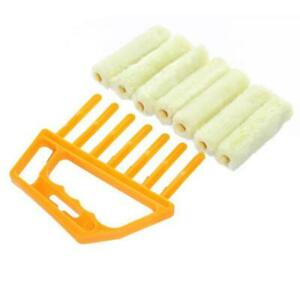 Venetian Blind Window Cleaner Brush Easy Cleaning Tool Washable Duster Blinds US