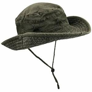 Outdoor Summer Boonie Hat For Hiking, Camping, Fishing, Operator Floppy Military