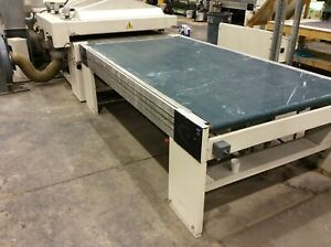 Superfici Compact Spray Machine including oven for large panels doors
