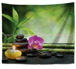 zen healing meditation wall hanging tapestry table cloth tapestry