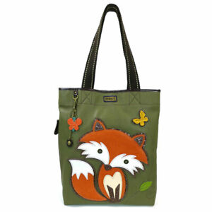 Chala Medium Size Everyday Tote Shoulder Bag in Olive Color (Fire Fox )