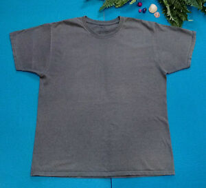 Fruit of the Loom Mens Under Sport Gray Active Wear T shirt Sz Large $2.50