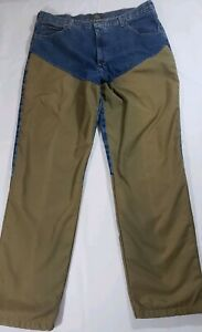 NEW Red Head Mens 40x34 Briar Hunting Jeans Field Brush Guard Nylon Protection