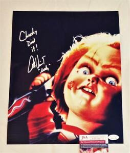 ALEX VINCENT ANDY SIGNED 11X14 METALLIC PHOTO CHILDS PLAY ANDY JSA COA 752 $48.39