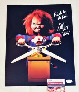 ALEX VINCENT ANDY SIGNED 11X14 METALLIC PHOTO CHILDS PLAY ANDY JSA COA 754 $48.39