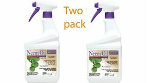 Bonide 022 Ready-to-Use Neem Oil 32-Ounce - 2 Pack