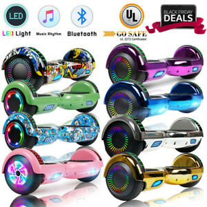 Hoover Board Swagtron Hoverboard Hoverheart UL2272 Bluetooth Speaker Scooter