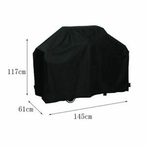 New Grill BBQ Cover Outdoor Barbecue Heavy Duty Waterproof 57 inches Black US