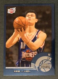 Yao Ming 2002-03 Topps Chrome #146 Rookie Card Chinese Text SP Rockets Nice!