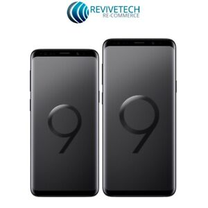 Samsung Galaxy S9S9 Plus 64GB GSM Unlocked Blue Purple Black - Shadow Black Dot