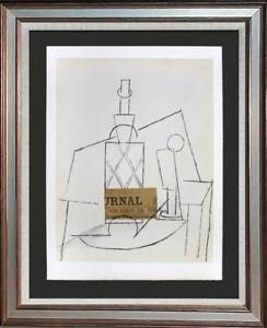 Pablo PICASSO Lithograph LIMITED 100