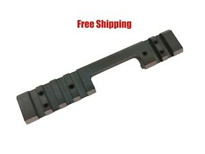 DIP 11mm Dovetail to Picatinny Scope Rail Black For CZ 455452453 Rifles
