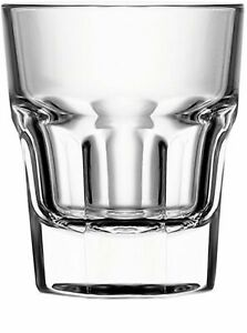 Circleware 42790 Scorchers Shot Set of 6 1.5 Ounce Clear Heavy Base Glassware...