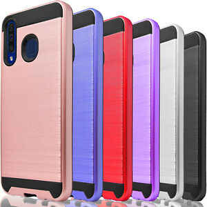 For Samsung Galaxy A10 A10E A20 A30 Phone Case Cover, +Tempered Glass Protector