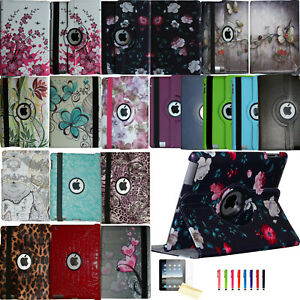 360 Rotating Smart Case Cover Stand Magnetic Leather for New Old Apple iPad $13.49