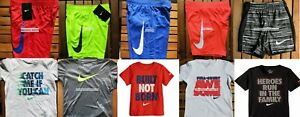 NIKE BOYS SIZE 2T ~ Dri-Fit SHORTS ~ T-SHIRTS ~ AUTHENTIC NWT ~ SUMMER ~ $218