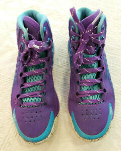Under Armour Curry One Purple Boys Basketball Shoes Sneakers 5.5 1259010 419 $40.00
