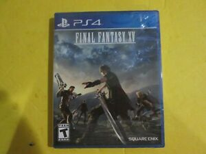 Final Fantasy 15 - PS4 Game Sony PlayStation 4  BRAND NEW SEALED