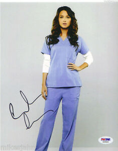 Camilla Luddington Grey Anatomy Tom Raider Autograph 8x10 Pic PSA DNA COA ms 117