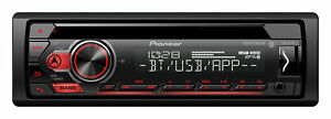 New Pioneer DEH-S31BT CD MP3 USB Bluetooth Car Stereo Radio Sync Android Device