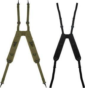 LC 1 H Style Suspenders Military Army Tactical Load Bearing Pistol Belt ALICE $13.99