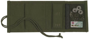 Olive Drab Canvas Military Survival Sewing Kit $7.99