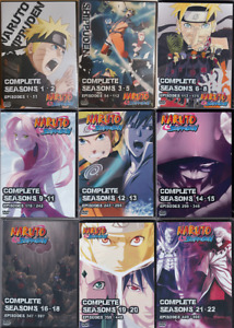 Naruto Shippuden Episodes 1-500 Full Series on 54 DVDs 22 Seasons