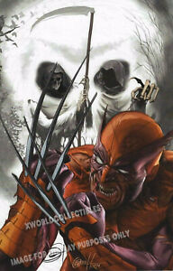WOLVERINE ART PRINT SIGNED By GREG HORN 11quot;x17quot; $34.99