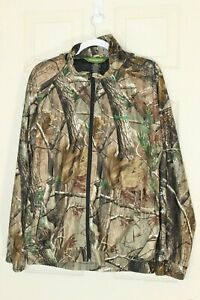 REMINGTON Camouflage Jacket With Hoodie And 2 Front Pockets For Men Size L