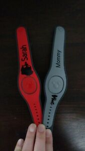 Disney Magic Band Decals - Your Choice Of Character And Text