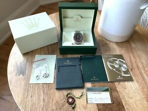 ROLEX GMT MASTER ll 2 16710 with 3186 MOVEMENT Error Stick Dial Z Serial SET