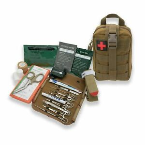 IFAK MOLLE Pouch With Stop The Bleed Kit - First Aid - Emergency Kit AsaTechmed