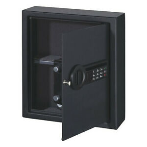 STACK-ON PDS-1805-E Wall Safe,Black,13.5 lb. Net Weight