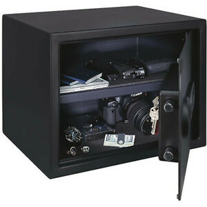 STACK-ON PS-1815-E Security Safe,Black,31.5 lb. Net Weight