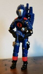 1986 Vintage  style GI Joe Blue shirt viper, BATS red laser