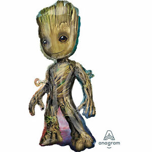 Marvel Guardians of The Galaxy Vol.2 Groot 18 x 40 Super Shape Foil Balloon