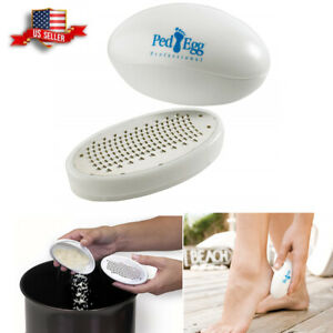 US Ped Egg Callus Remover Pedicure Ultimate Foot File for Smooth Beautiful Feet
