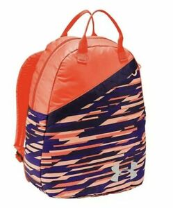 Under Armour UA Girls Favorite Backpack Peach  Purple-906