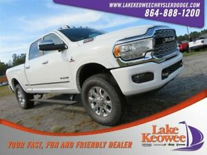 2019 Ram 2500 Limited 2019 Ram 2500 Limited 1 Bright White Clearcoat Crew Cab Pickup Intercooled Turbo