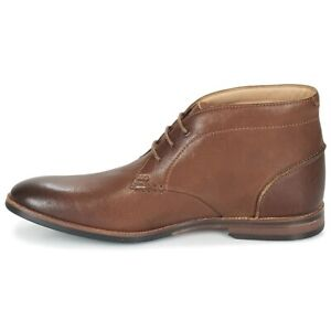 Clarks Broyd Mid Tan Mens Lace Up Leather Ankle Boots 23858 $139.95
