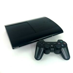 Sony PlayStation 3 PS3 Super Slim Console with Two Wireless Controllers
