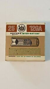 HERTER'S INTER-NATION EXTRA LONG RANGE 12GA SHOTSHELL BOX