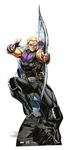 Marvel Avengers Hawkeye Character Cardboard Cut Out Life Size Standup Assemble GBP 35.99